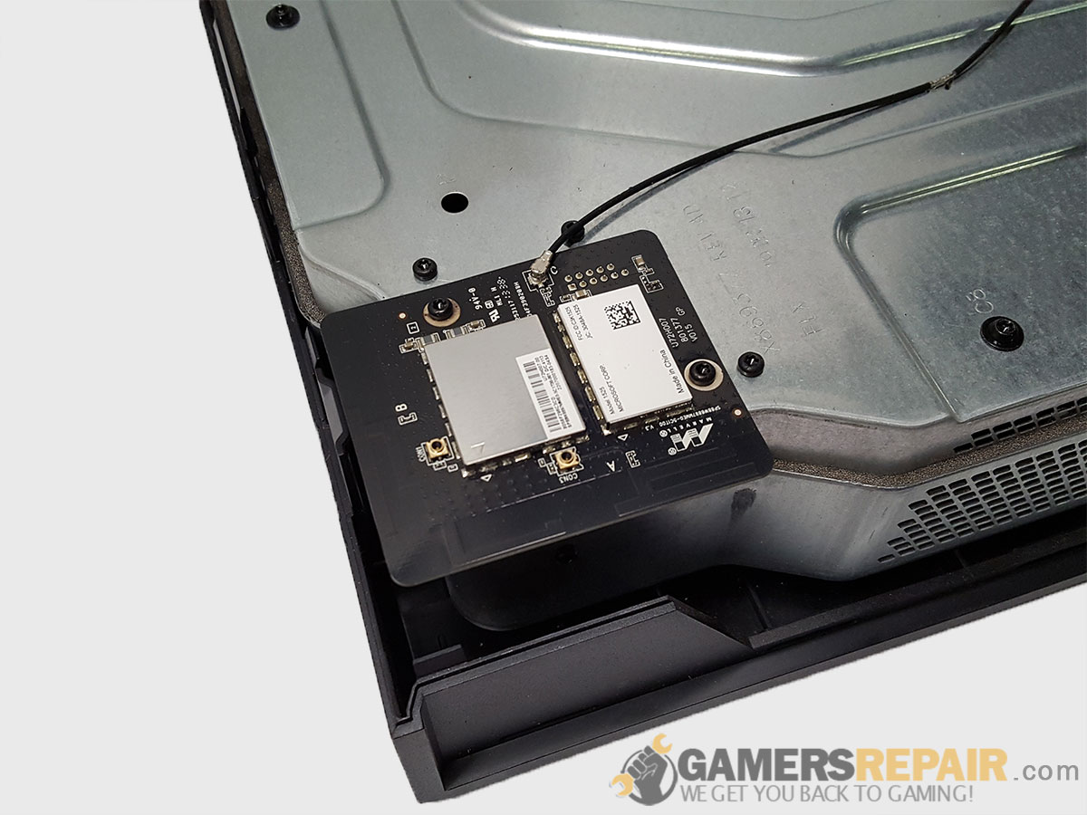 Xbox ONE Wifi Bluetooth Connector Installed